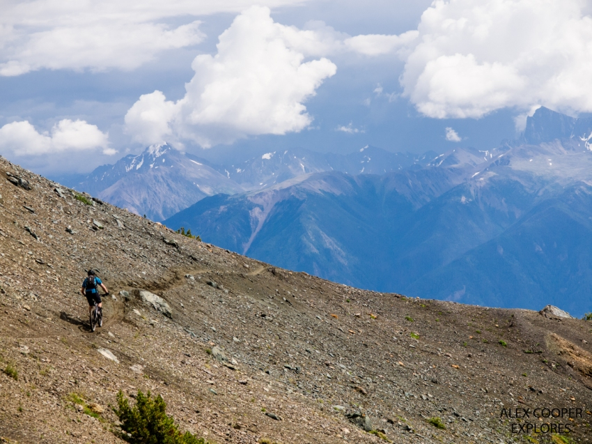Mountain biking in the South Chilcotins