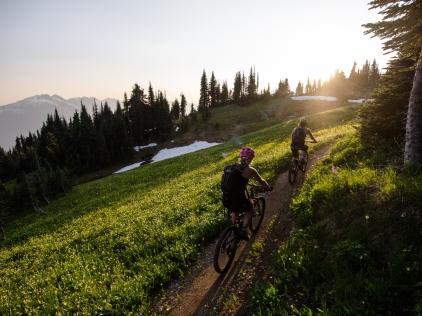 Frisby Ridge trail, Revelstoke