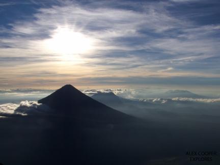 Volcan Acatanengo, Guatemala