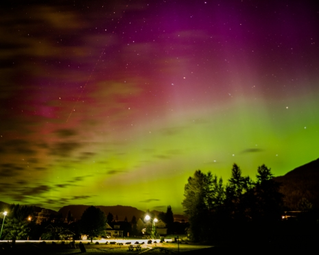 Northern Lights in Revelstoke