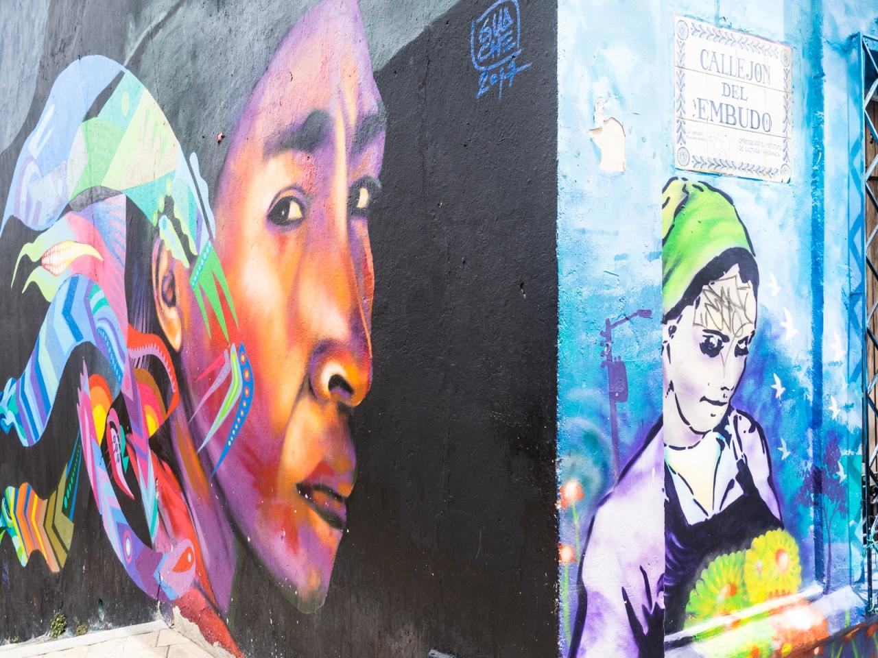 Contrasts in Bogota