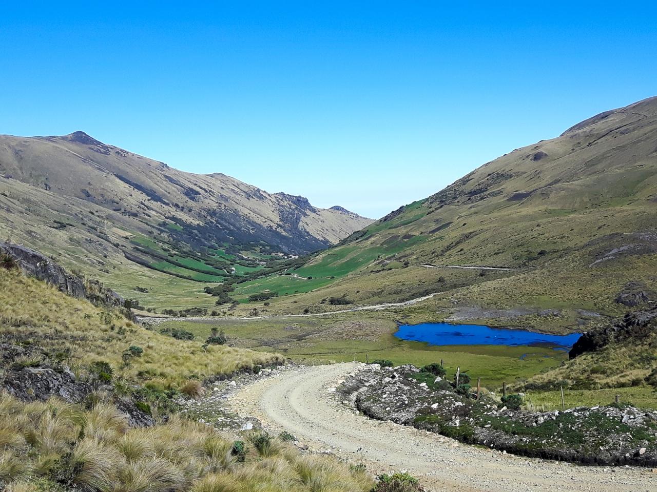 Paramo paradise: Cuenca to SantaIsabel