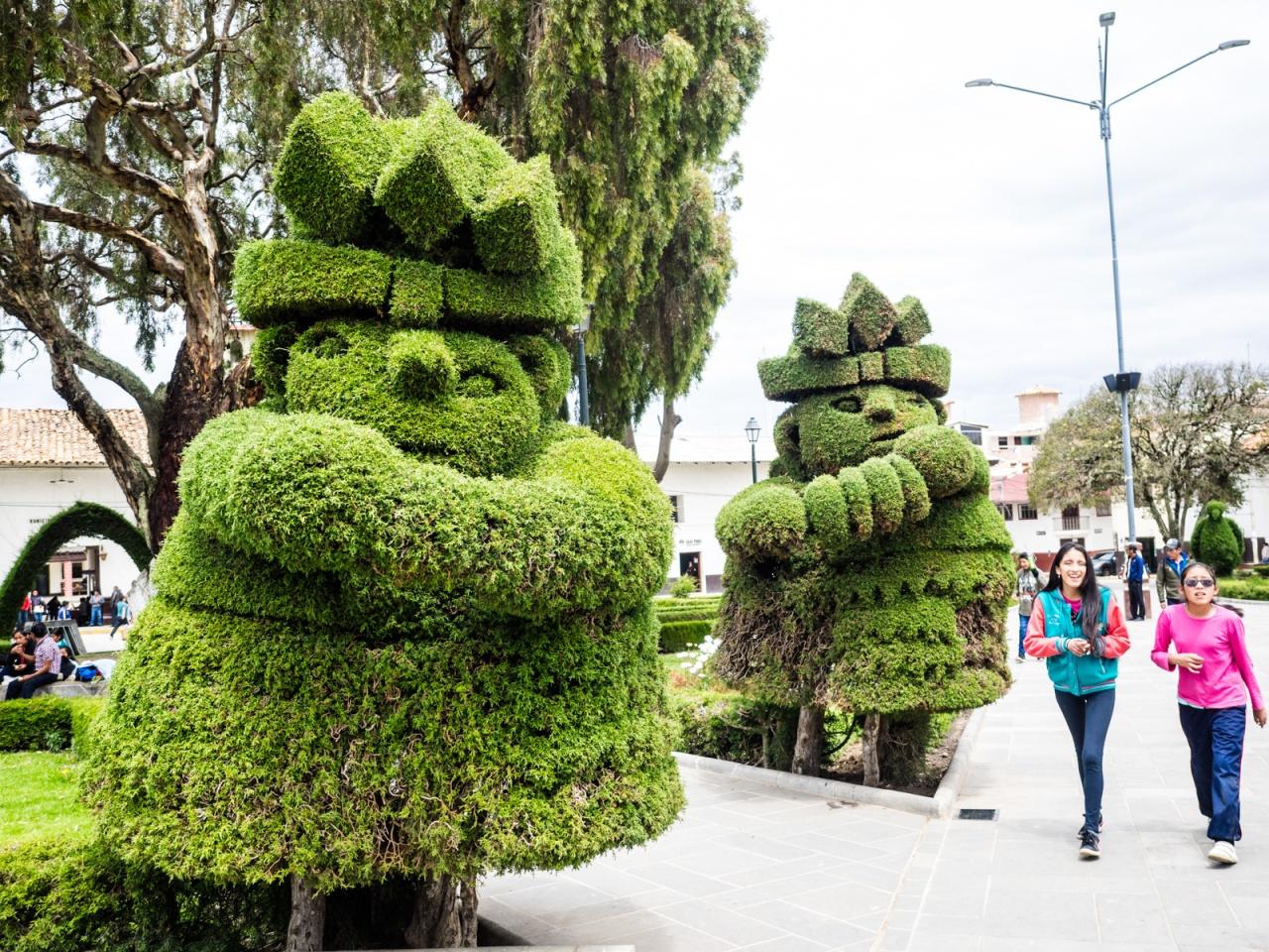 A slice of city life: Cajamarca toHuamachuco