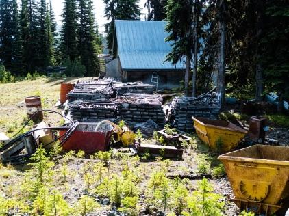 The Tillicum Mine is a mess..